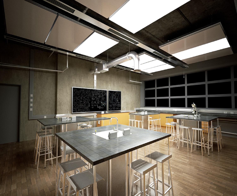Il soffitto hi-tech del Fraunhofer ti libera dall'aria ...